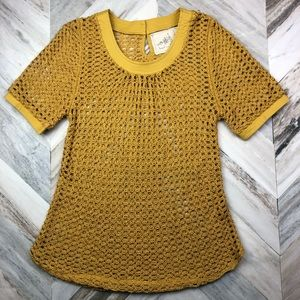 Anthropologie Angel of the North Senoia Pullover